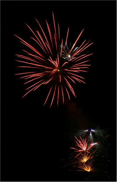 Picture Of Big Red Firework